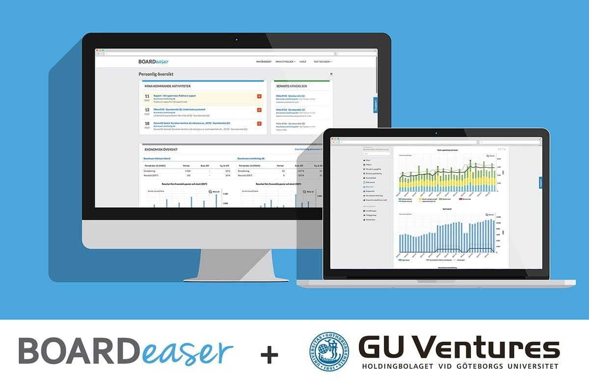 Boardeaser och GU Ventures i samarbete