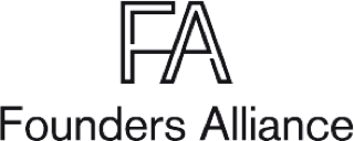 svart logo FA